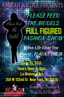 PLEASE FEED THE MODELS FASHION SHOW