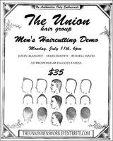 The Union Men's Work Haircutting Demo