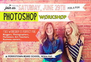 Photoshop Workshop presented by Design23