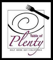 HOSTED BY Clyde Beffa, Jr. &    Sr. Jeanette Braun, TABLE of PLENTY  logo