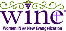 WINE: Women In the New Evangelization logo