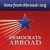 Democrats Abroad United Kingdom logo