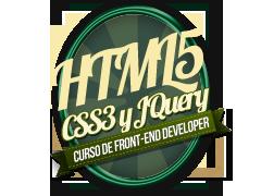 Curso de Desarrollo de Frontend: HTML5, CSS3 y JQuery