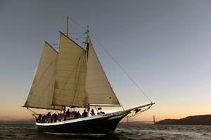 SF Bay Friday Night Sunset Sail/Sausalito- 2 hours
