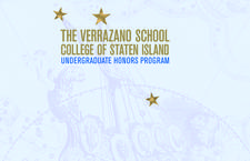 The Verrazano Honors Program at the College of Staten Island/CUNY logo