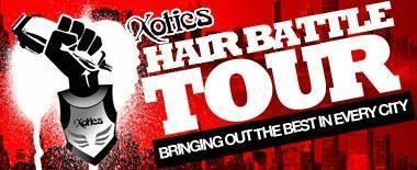 XOTICS HAIR BATTLE TOUR PHILLY BARBER / SNEAKER BATTLE