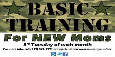 Basic Training for New Moms
