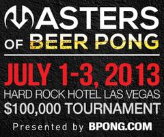 BPONG.com Masters of Beer Pong