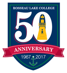 Rosseau Lake College logo