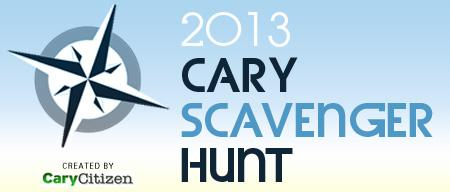 Cary Scavenger Hunt 2013