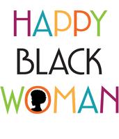 Happy Black Woman Happy Hour LA