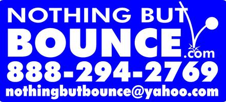 Nothingbutbounce.com Indoor Party Times July