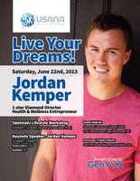 GenYVR Presents: Live Your Dreams with Jordan Kemper