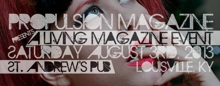 Propulsion Magazine's Living Magazine Event