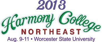 Harmony College Northeast 2013