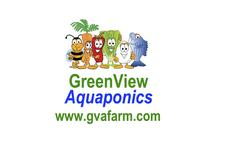GreenView Aquaponics Family Farm & Apiary logo