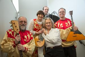 Vladimir Chernov and Firebird Balalaika Quartet at RUSS...