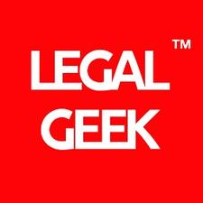 Legal Geek - Law Tech Startup Disruption Events  logo
