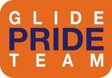 The Glide Pride Team logo