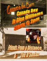 Concert in the Barn - Canada Day - Glen Williams