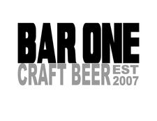 BAR ONE TAP ROOM logo
