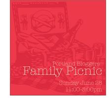 Portland Bloggers' Family Picnic