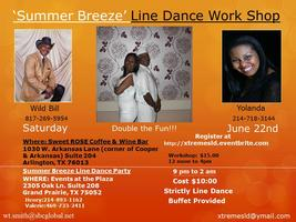 'SUMMER BREEZE' LINE DANCE WORKSHOP