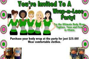 Bare Natural Body On-Line Wrap Party