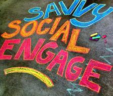 Savvy Social Engage logo