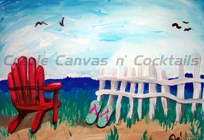 Creole, Canvas N' Cocktails Painting Party (SUMMER...