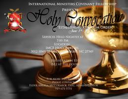 International Ministers Covenant Fellowship - 2013 Annual Holy...