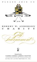 Robert W. Anderson Charity Golf Tournament