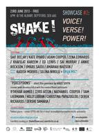 Shake! Showcase #2: Voice/ Verse/ Power
