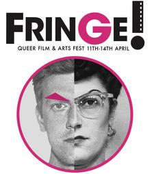 Fringe! Queer Film & Arts Fest logo