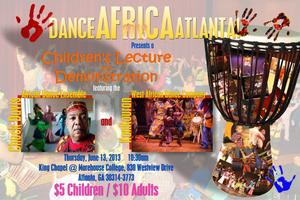 Dance Africa Atlanta - Children's lecture and...