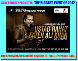 Intense Entertainment Presents 'Ustad Rahat Fateh Ali...
