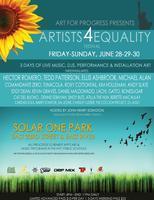 "Art for Progress ""Artists4Equality"" Festival"