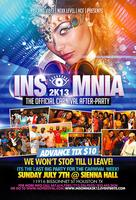 INSOMNIA --> HOUSTON'S OFFICIAL CARNIVAL AFTER-PARTY!