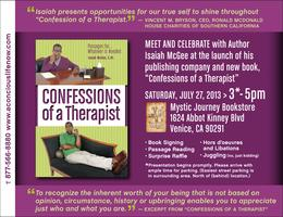 """Confessions of a Therapist"" Book Launch & Signing"