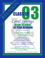 Coral Springs High School Class of 2003 - 10 Year...