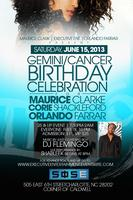 Gemini/Cancer Birthday Celebration