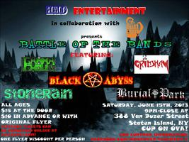 "HMD ENTERTAINMENT presents ""BATTLE OF THE BANDS"""