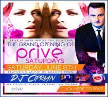 PRIVÉ Nightclub Presents :: PRIVÉ Saturdays :: Grand...