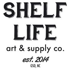Shelf Life Art & Supply Co. logo