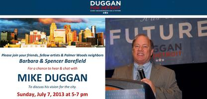 Meet & Chat with Mike Duggan