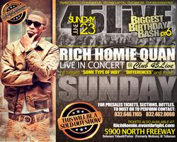 Rich Homie Quan Perforing Live at Club 45Live for the...