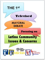 1st (Live) Televised Mayoral Debate on Latino Community Issues &...
