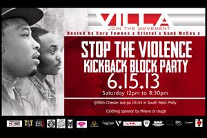 Stop The Violence Kickback Block Party