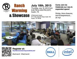 Tech Ranch Austin:  Ranch Warming and Showcase Event