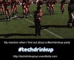 #techdrinkup party co-hosted by @LadyBits
